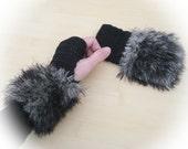 Crochet FIngerless Gloves, lace mittens, fingerless mittens, winter gloves women, woman gift, gift for her, girlfriend gift