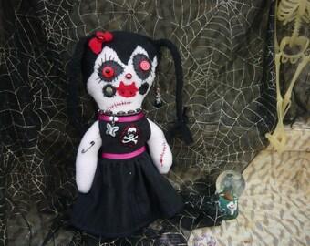 Handmade Naughty Vampire Plush Toy