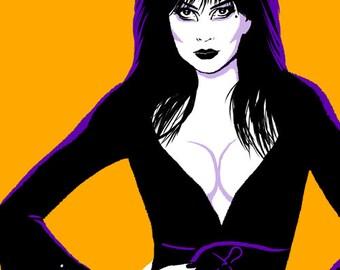 "Elvira, Mistress of the Dark 11x17"" poster"