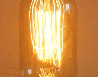 Straight Edison Light Bulb (Straighty)