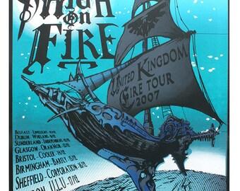 Gig Poster: Pelican UK Tour