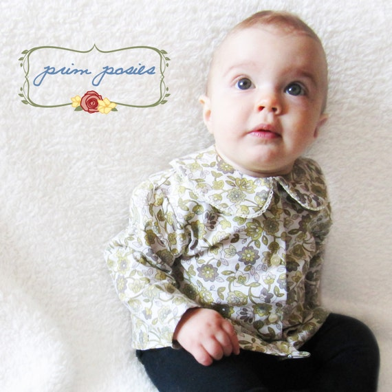 baby clothes baby shirt vintage style baby top