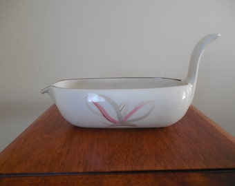 Winfield Dragon Flower Gravy Boat