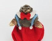 Anthropomorphic Taxidermy Mr Mole.