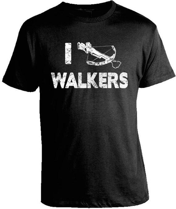I crossbow walkers the walking dead t-shirt
