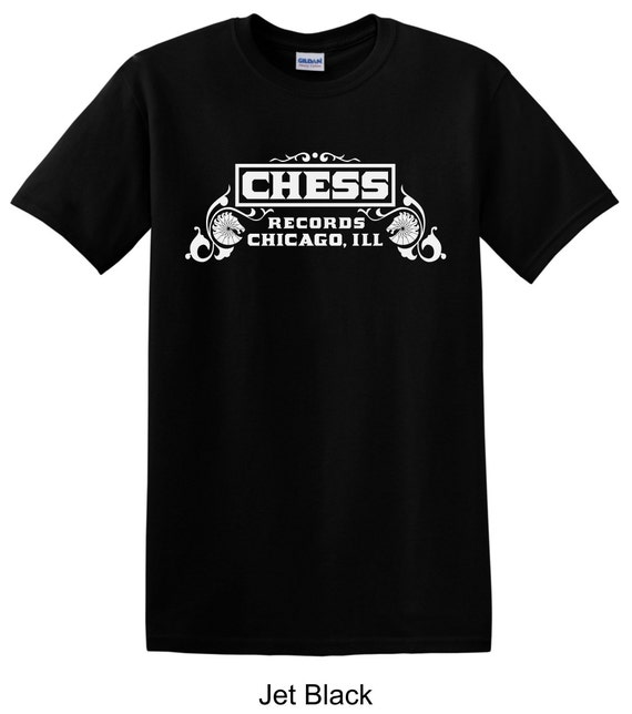 Chess records vintage record label tee shirt long by tsteesusa for Vintage record company t shirts