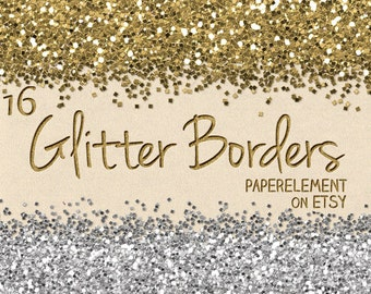 mini wall border pink glitter