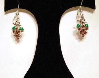 Earrings Grapes ER28
