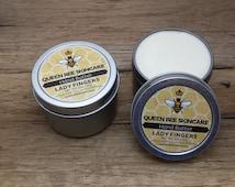 Hand Butter - LADY FINGERS - Moisturizing Hand Lotion Cream - Replenishing Hand Balm - Hand Salve Cuticle Balm - Natural Skincare