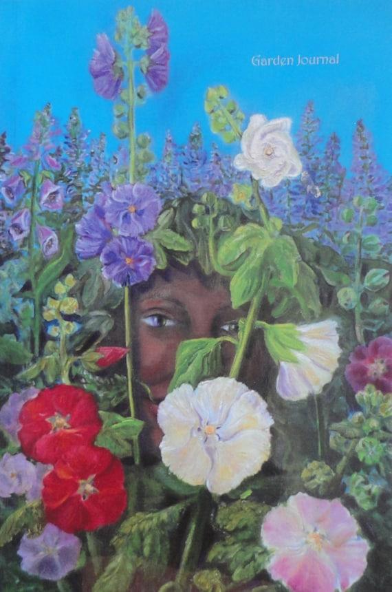 3 year undated garden journal 6 x 9 Cover is