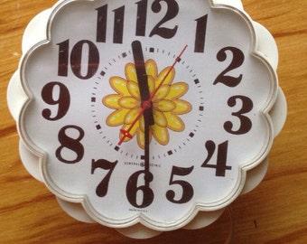 Vintage 1960's wall clock
