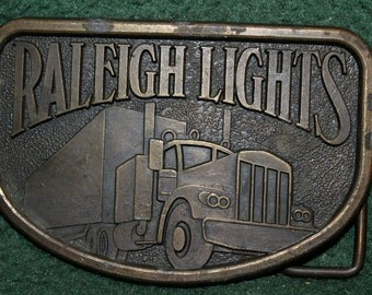 Vintage Raliegh Light Western Belt Buckle