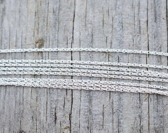 """20"""" Inch Shiny Sterling Silver Rope Chain"""