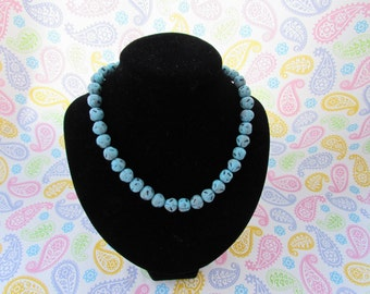 Seaside Turquoise Beaded Necklace