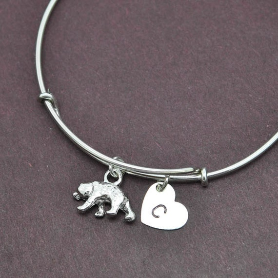 polar bangle sterling silver bangle polar