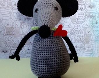 Crochet hug Mr. Tony, charmer