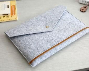 Triangle Flap Felt 13 Macbook Sleeve , Felt 13 Macbook Air Case , 13 Macbook Bag , 13 Macbook Pro , 13 macbook case , 13 macbook air  #211