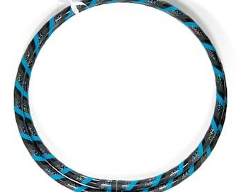 Custom Infinity HDPE Beginner Dance Hula Hoop - Dark Ninja