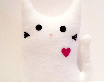 ELLE the KITTY GRAM Plush Cat Fundraiser 100% Profits to Animals, Stuffed Animal, Cat Plushie, Cat Softie, Cat Pillow