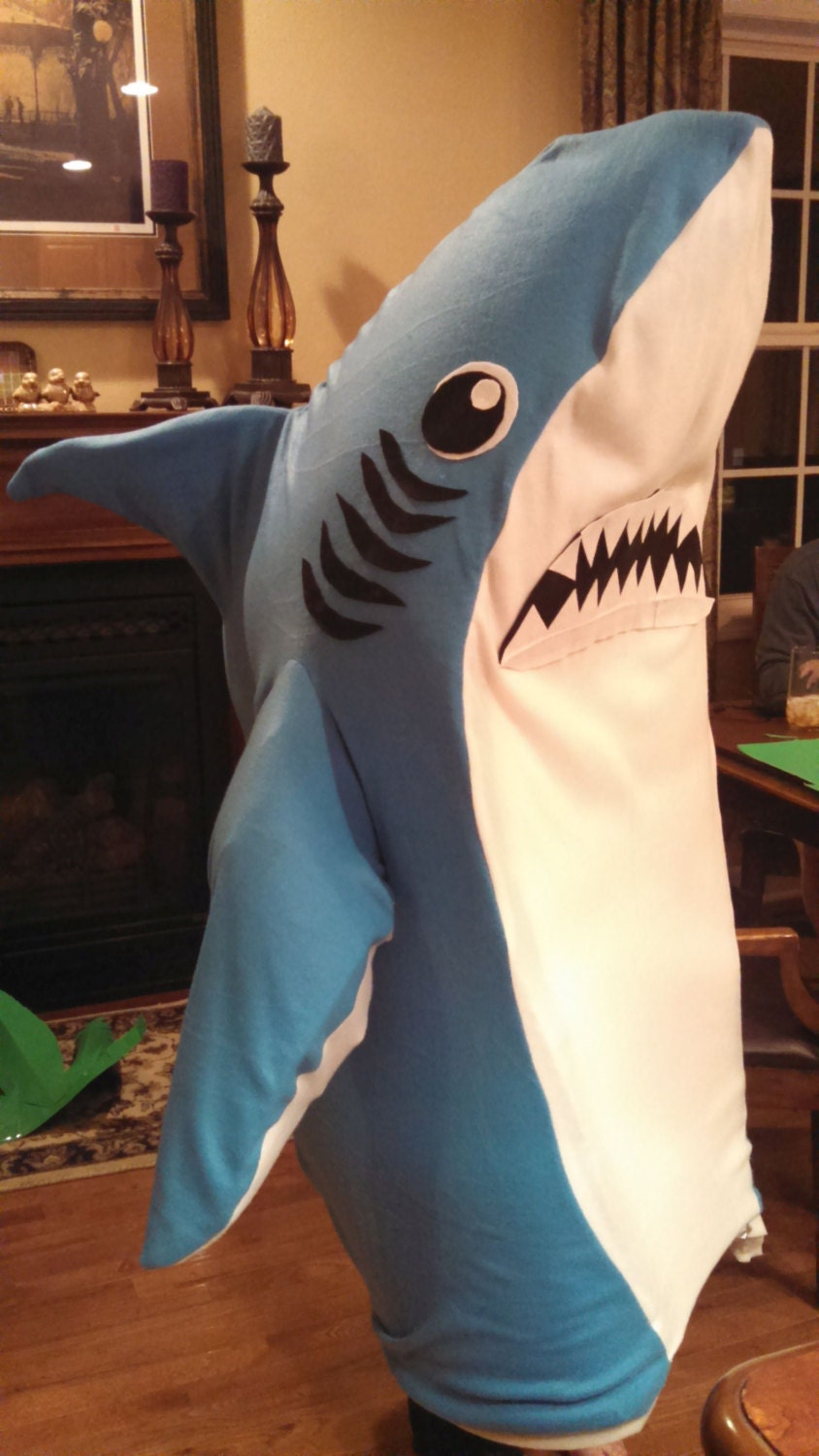 Left Shark Costume-One Size Fits Most