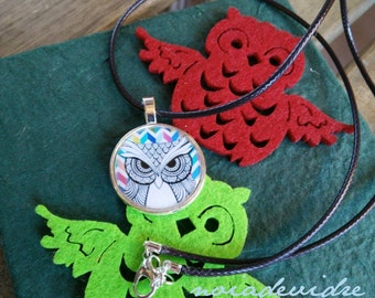 "Necklace ""OWL"""