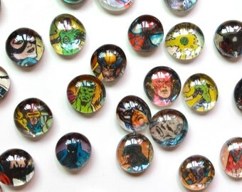 5 to 50 Comic Book Magnets