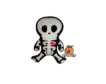 Charlie the Skeleton Plush - PDF Pattern and full tutorial