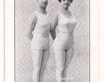 Acrobat family French advertising card Paris Pisons circus