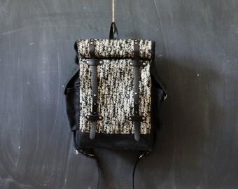 The Herringbone Backpack