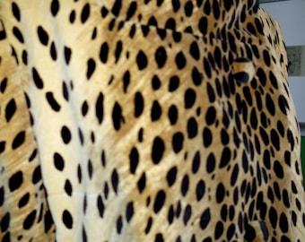 Leopard Print Jacket Etsy
