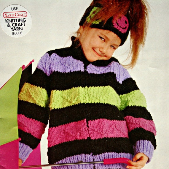 Knitting Patterns Bulky Yarn Sweater : Sweater and Cardigan Knitting Patterns Bulky Yarn Bouquet 1240