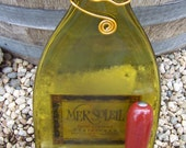 Recycled Wine Bottle Cheese Board - Mer Soleil Chardonnay