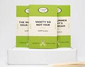 Hilarious anti valentine gag gift matchboxes -- Anti Love Literary Lites. Lovers tiff. Anti valentine gift. Boyfriend gift. Girlfriend gift.