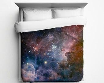 Nebula Duvet, Carina Nebula Duvet Cover - Printed in USA