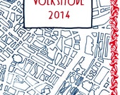 VOLKSMODE: a 24-page, two-color comics journalism collection of oral histories from Vienna's faded fashion industry