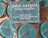 PDX carpet fridge magnet
