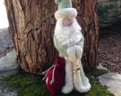 Waldorf Needle Felted Classical Santa Claus