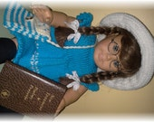 AMERICAN GIRL DOLL ... Knitted Dress, Hat, and Bag