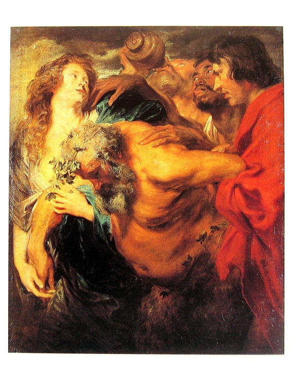 The drunken silenus anthony van dyck flemish painter for The girl with the dragon tattoo common sense media