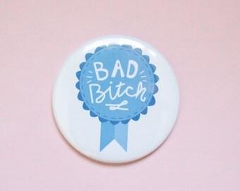 Bad B Award Pocket Mirror