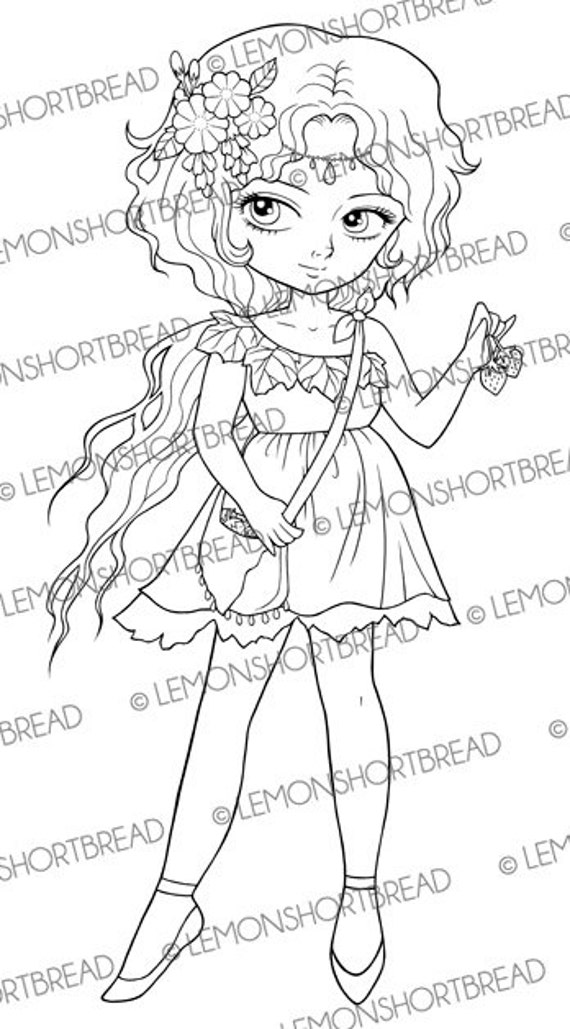 flower pixies coloring pages - photo#39