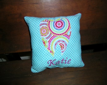 Shabby Chic Handmade Tooth Fairy Pillow U Design Your Own Personalized Monogrammed Name or Letter