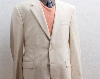 Men's Instant Outfit / Men's Blazer, Sweater, Shirt, Tie / Size XL / Four-Piece Vintage Menswear / Harris Tweed