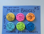 Hey Pais Merit Badges Set 2--Reward Your Achievements