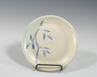 Sandwich Plate  - Small Ceramic Dish - Serving - Kitchen - Stoneware Pottery