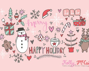 Christmas Holiday Clipart and Clip Art Graphics