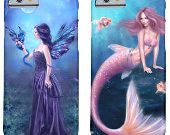 Fairy & Fantasy Art TOUGH iPhone Case - fits the iPhone 4 5 6 or 6 Plus - you choose the artwork