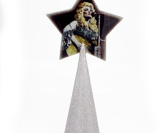 Dolly Parton Christmas Tree Topper