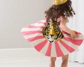 Tiger Cape - Tiger Costume - Retro Tiger Cape - Tiger Print - Girl Cape - Boy Cape - Birthday Gift for Child - Kids Gift Idea - Super Cape