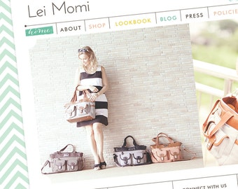 Website Design (Custom Website) - Wordpress Website Template - Graphic Design - Web Design
